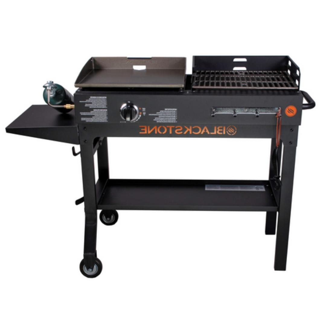 Grill BBQ Griddle and Charcoal Blackstone Duo Flat Top Cooking