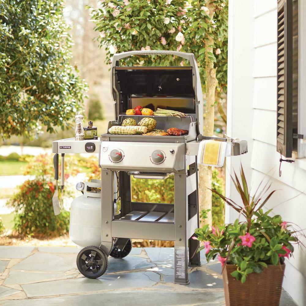 WEBER Gas Operated in black Outdoor GS4 Grilling