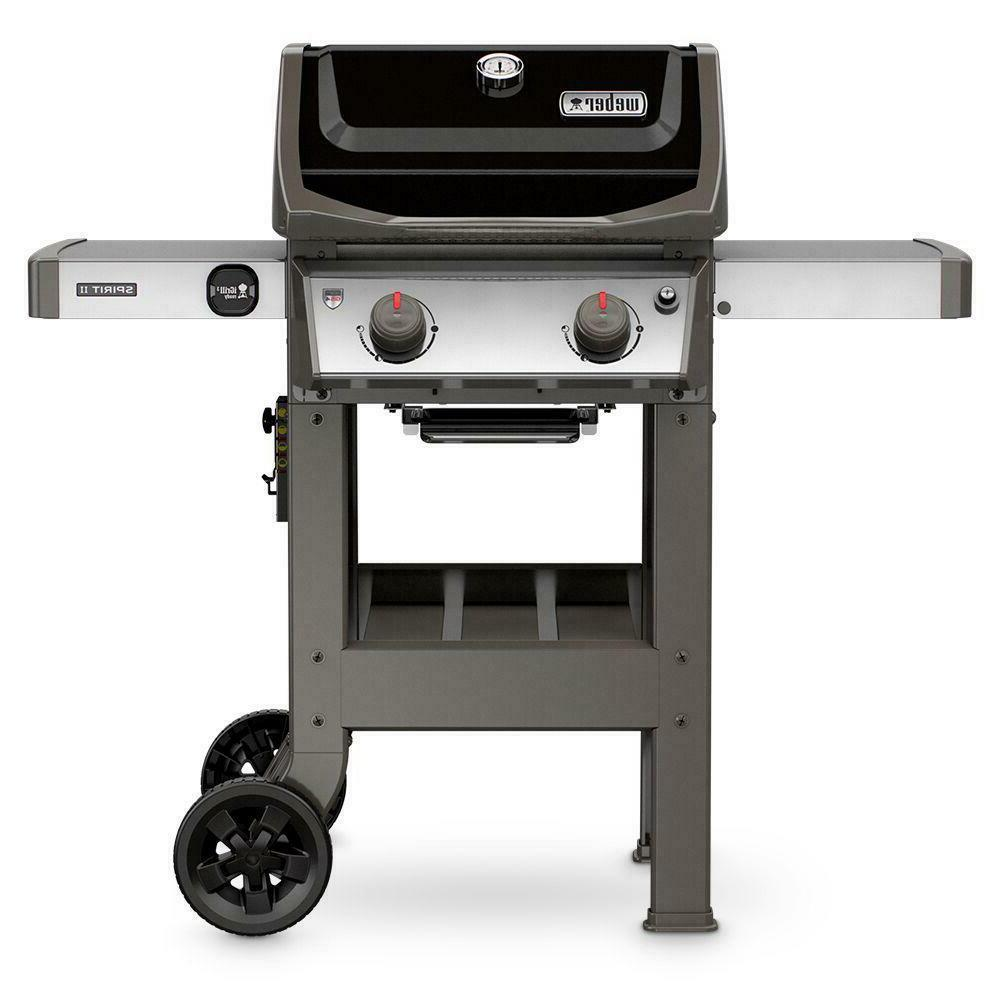 grill gas operated in black outdoor powerful