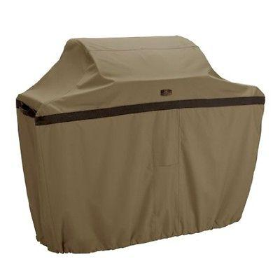 hickory bbq grill cover xx large tan