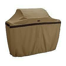 Classic Accessories Hickory BBQ Grill Cover, XX-Large, Tan