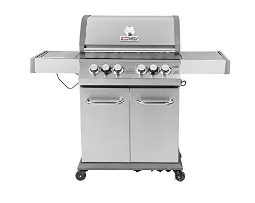 Royal Infrade 550 4-Burner Propane Grill, Outdoor Grill with Steel