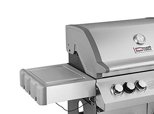 Royal Gourmet 4-Burner Grill, BBQ with Side Steel