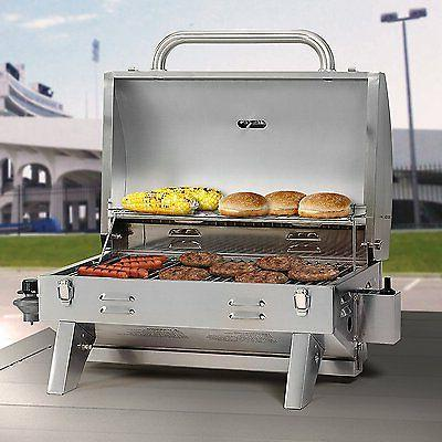 Gas Steel Patio BBQ Camping