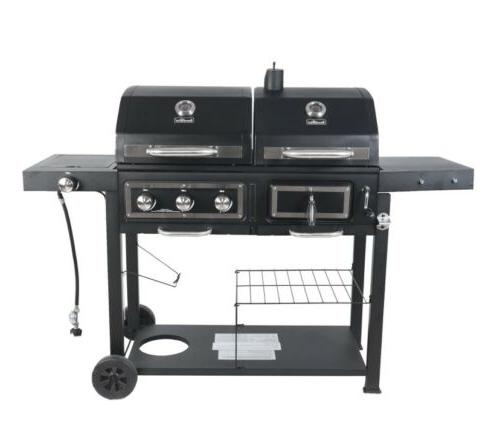 New Combo Grill! Dual Fuel Charcoal, with