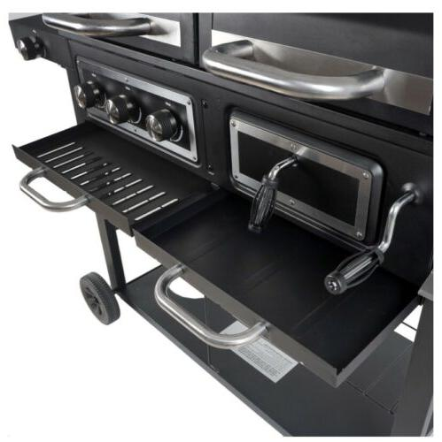 New Combo Grill! RevoAce Dual Fuel & Charcoal, with Stainless