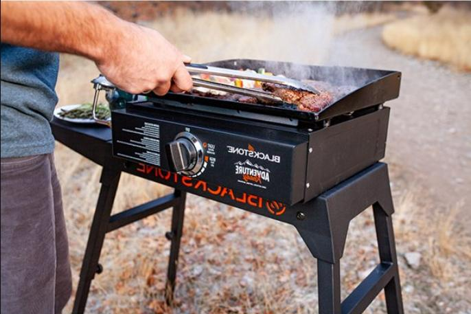 Outdoor Griddle Flat Top Kitchen Portable