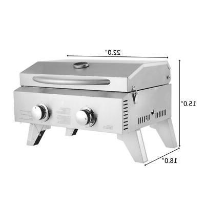 Outdoor Propane Burner BBQ Grill