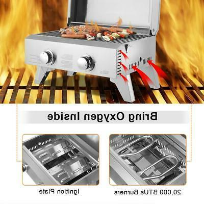 Outdoor Stainless Steel Propane