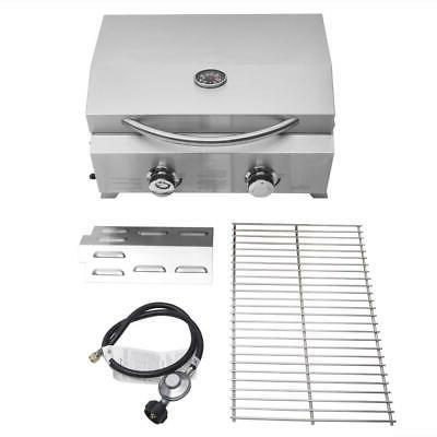 Outdoor Portable Propane BBQ Grill 20000BTUs