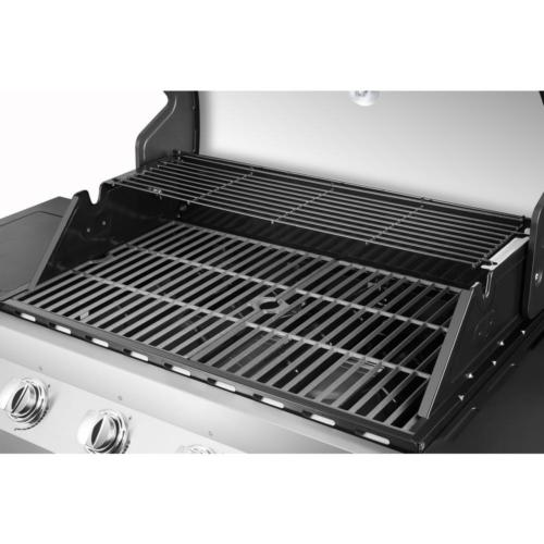 Premier 4-Burner Grill in Stainless with Side Burner