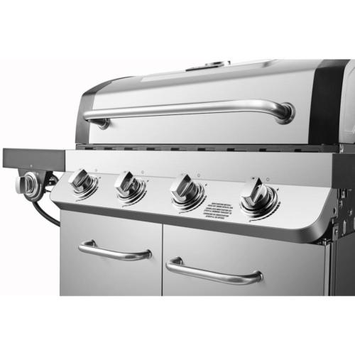 Premier Propane Gas Grill in Stainless with Burner