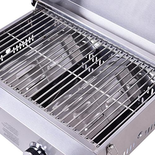 """Giantex Gas Grill BBQ, with 20000 BTU, Perfect Outdoor x 18"""" 15"""","""