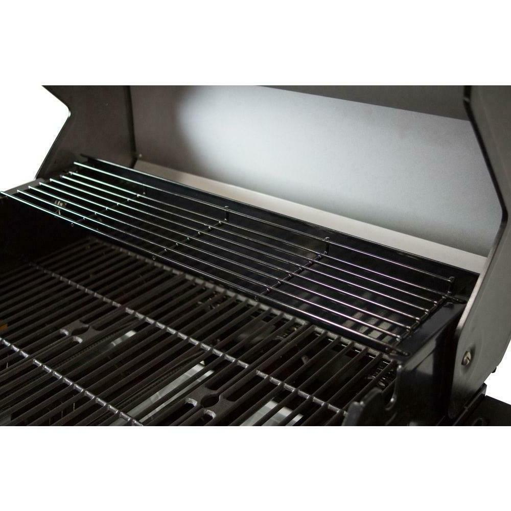 Propane Patio Stainless Steel BBQ Burner 4 Dyna