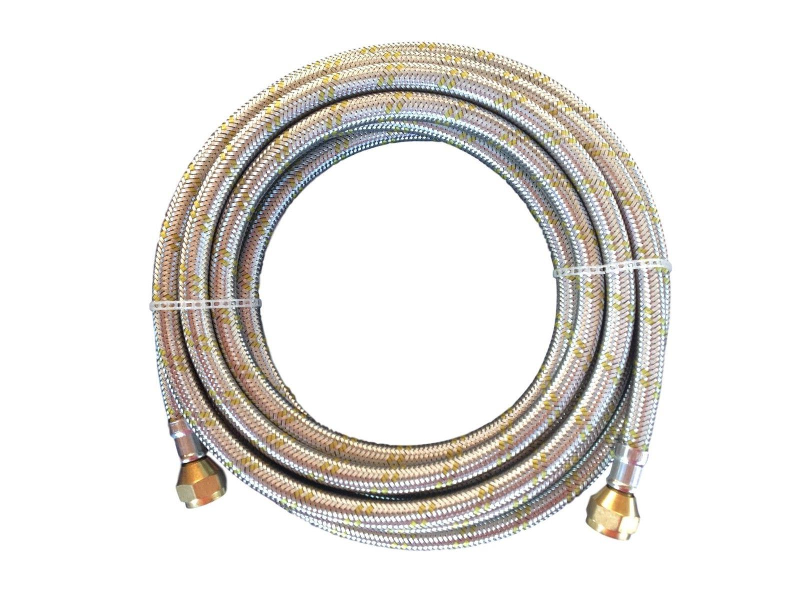 propane natural gas line 16 ft stainless