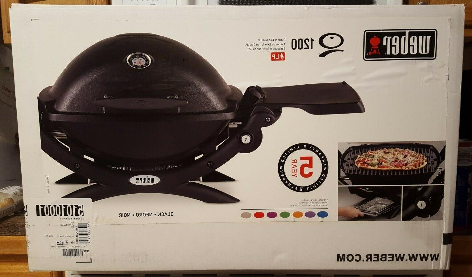 q 1200 portable tabletop propane gas bbq