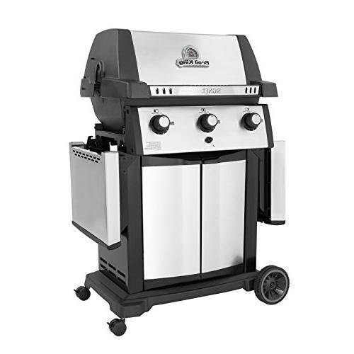 Broil King Cast-Aluminum 3 Burner Propane Gas Grill