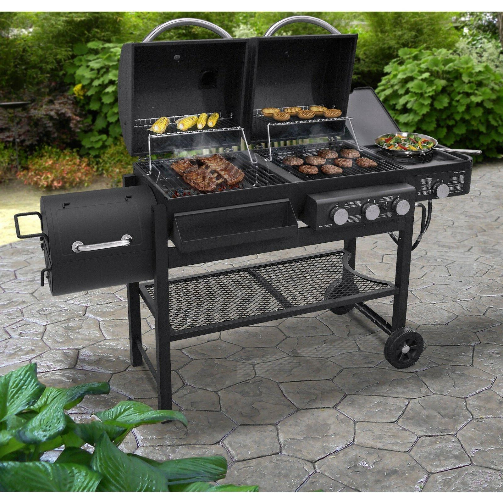 Brand NEW Smoke Hollow Combination Gas and Charcoal Grill CM