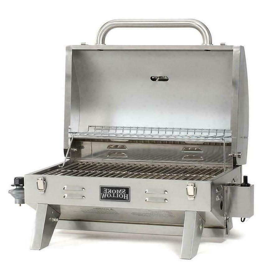 Smoke Stainless Steel BBQ Gas