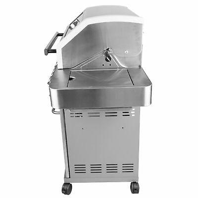 Monument 4-Burner Propane Gas Grill + 54-Inch Grill