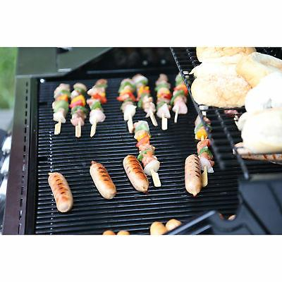 Monument 4-Burner Gas Grill + 54-Inch