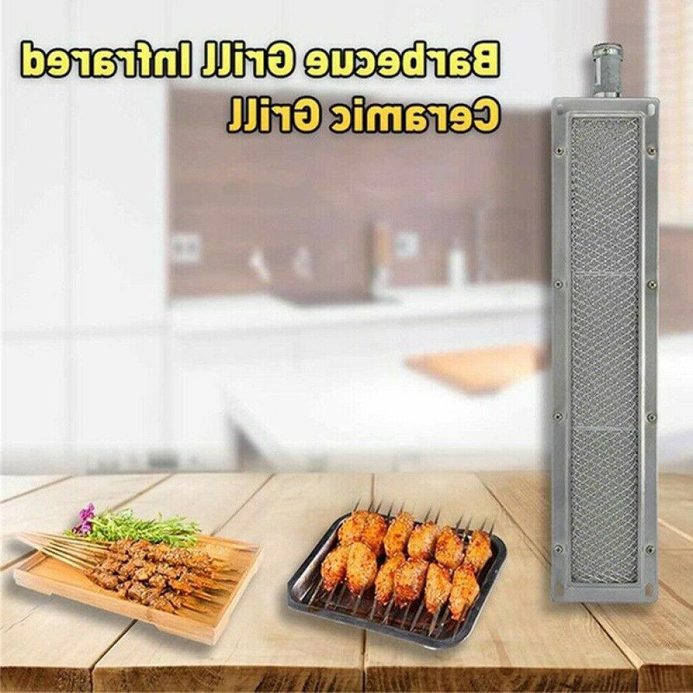 Universal Ceramic GAS Grill Infrared Burner Stainless Steel Heater BBQ US