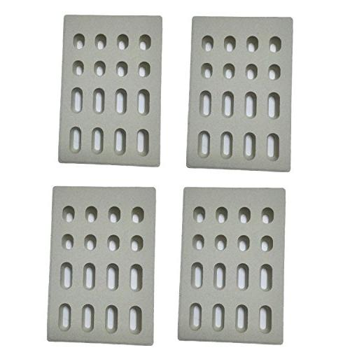 universal replacement heat plate flame