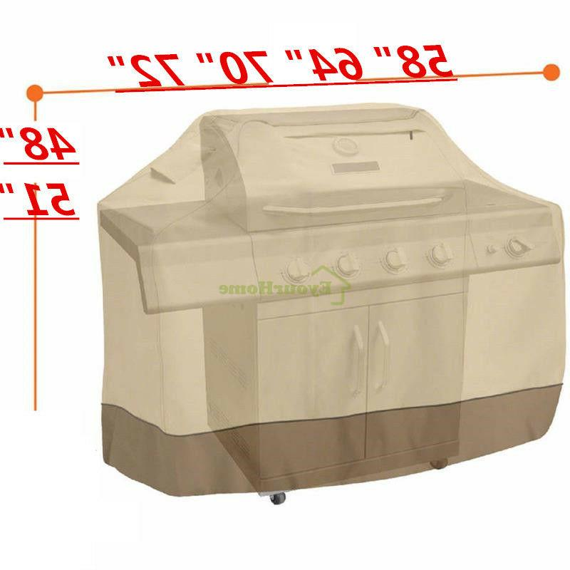 waterproof bbq grill cover gas barbecue smoker