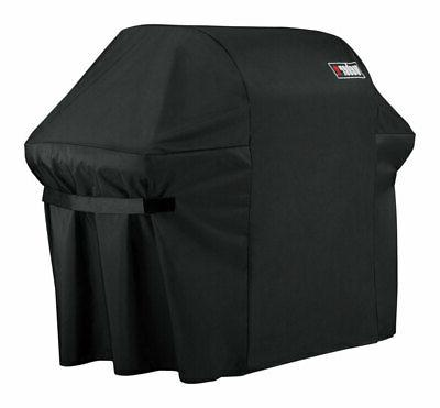 weber 7109 grill cover with black storage