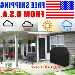 """LARGE BBQ Gas Grill Cover 67"""" Outdoor Waterproof Barbeque Co"""