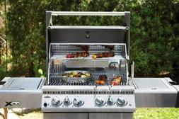 Napoleon LEX485RSIBNSS-1 Rear Burners Natural Gas Grill with