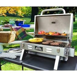 Liquid Propane Gas Grill Smoke Hollow Stainless Steel 1 Burn