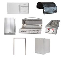 Blaze LTE 7-Piece 40-Inch | Natural Gas | Outdoor Kitchen Gr