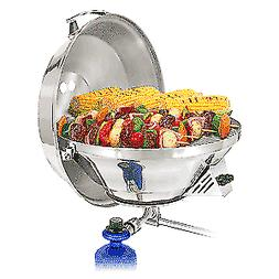 "MAGMA MARINE KETTLE 17"" PARTY SIZE GAS GRILL W/HINGED LID"
