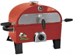 Mr. Pizza GOT1509M Oven Red Gas Grill Home Patio Lawn Garden