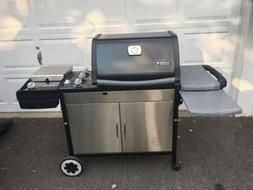 new genisis natural gas grill excellent condition