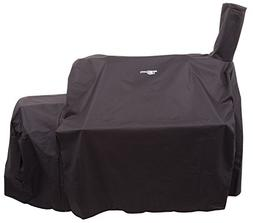 Oklahoma Joes Highland Offset Smoker Cover, Black