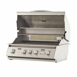 Bullet Outdoor Kitchen Built In 4 Burner Stainless Steel Nat