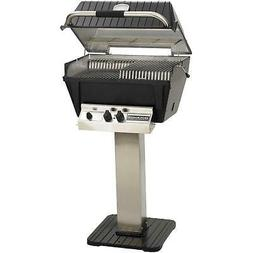 Broilmaster P4-XF Premium Propane Gas Grill On Stainless Ste