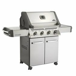Napoleon P500PSS-2 Prestige 500 Propane Gas Grill On Cart, S