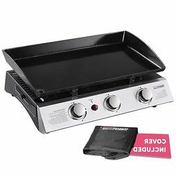 Royal Gourmet PD1300 Portable 3-Burner Propane Gas Grill Gri