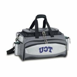 Portable Gas Grill and Cooler Combo NCAA TCU Horned Frogs Tr