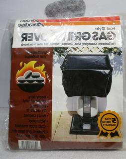 """POST-STYLE Gas Grill Cover Barbecue 28"""" x 19"""" x 18"""" Elastici"""