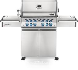Napoleon Prestige PRO 500 Stainless Steel Cart Gas Grill wit