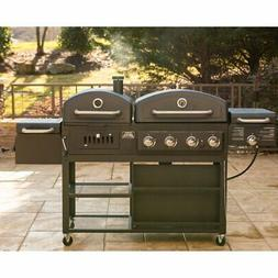 Smoke Hollow Pro Series 4-in-1 Gas & Charcoal Four Burner Co