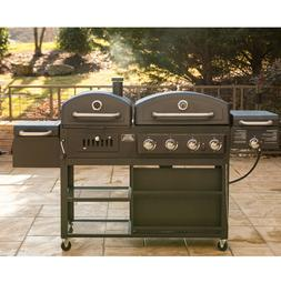 Smoke Hollow Pro Series 4-in-1 Gas & Charcoal Combo Grill fr
