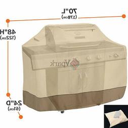 Professional BBQ Grill Cover Gas Barbecue Waterproof Smoker