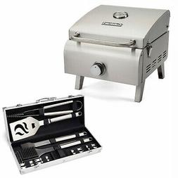 Cuisinart Professional Portable Gas Grill with 14-Pc. Tool S
