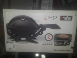 Weber Q 1200 Portable Tabletop Propane Gas BBQ Grill Quick O