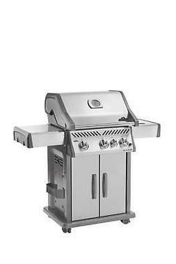 Napoleon Grills Rogue 425 Propane Gas Grill, Stainless Steel